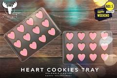 -MUSU- Heart Cookies @ Happy Weekend