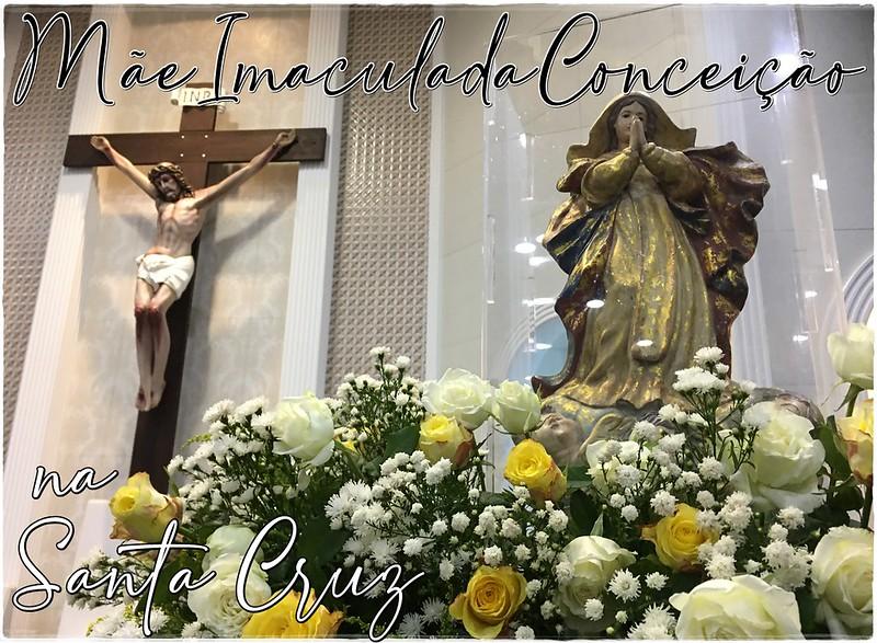 Peregrinação da Mãe Imaculada na Santa Cruz