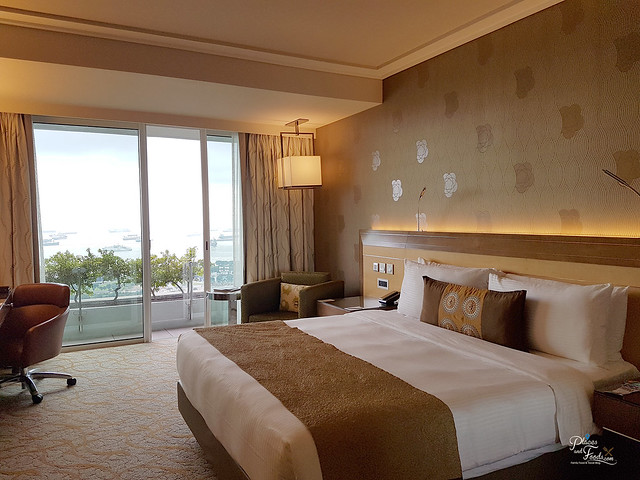 marina bay sands singapore Deluxe King Harbour Ocean View