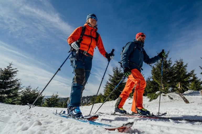 Alena Zárybnická o pořadu Na skialpech přes hory