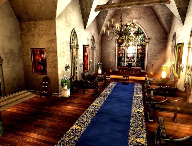 Wythburn Village -Gothic Chapel Interior