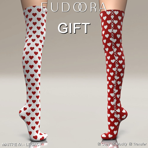 Eudora3D Valentine Socks GIFT Preview