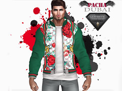 PACHA_AESTHETIC_ Jacket (Green)