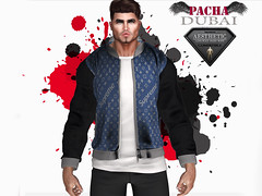 PACHA_AESTHETIC_ Jacket (Jeans &Black)