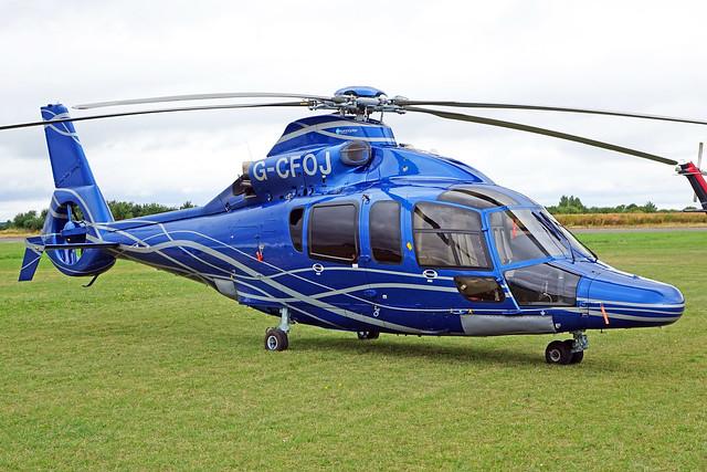 G-CFOJ  -  Eurocopter EC155B1 c/n 6852  -  EGBT 16/7/17
