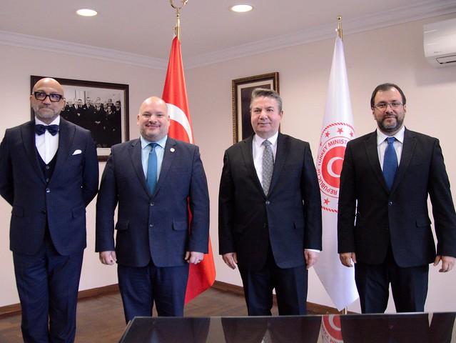 Venezuela y Turquía revisan avance de proyectos bilaterales en diversas áreas de cooperación