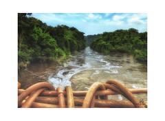 Gabon, Pont de lianes de Poubara