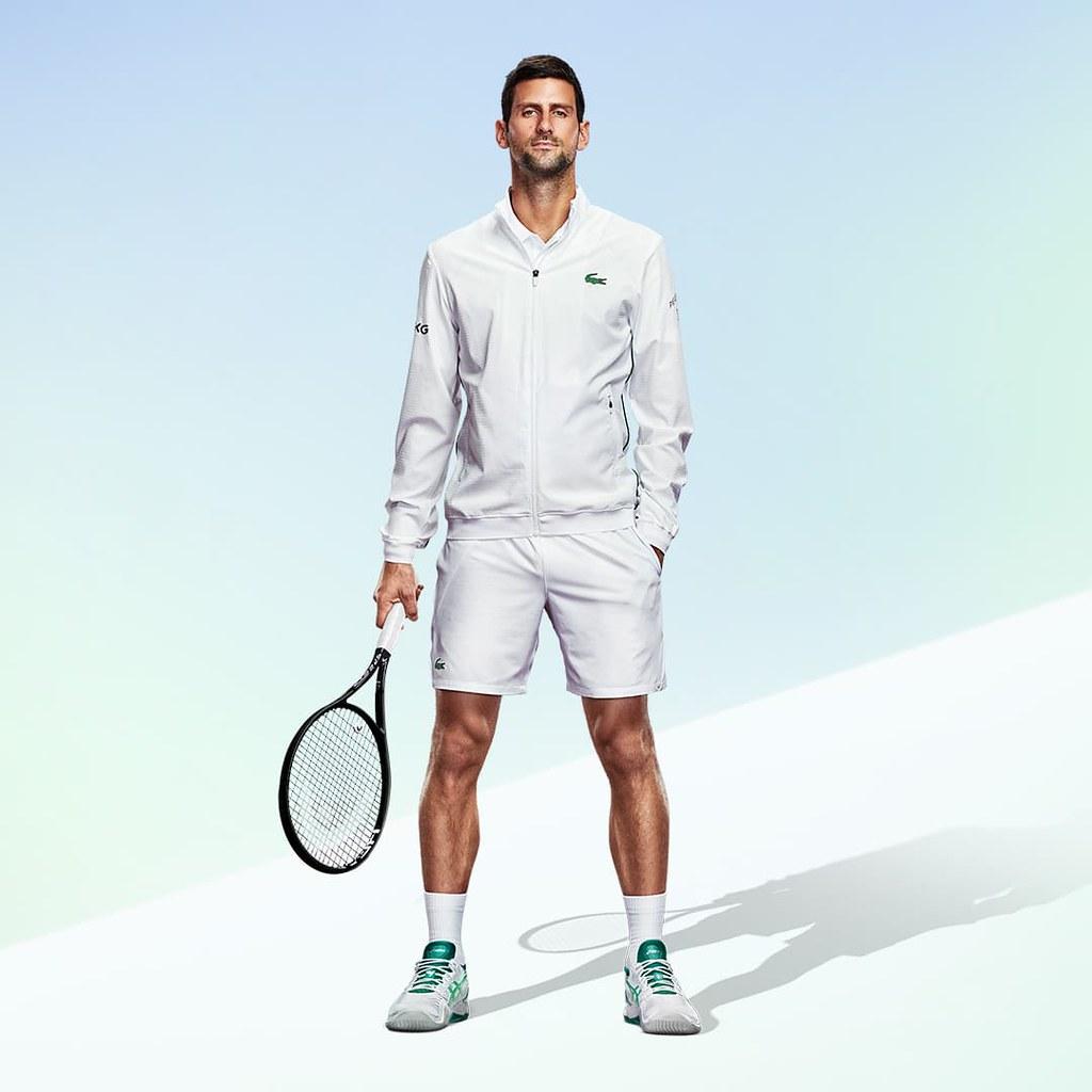 Novak Djokovic。(圖/亞瑟士提供)