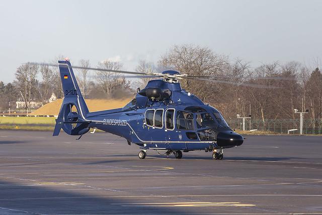 D-HLTL, Eurocopter EC155 Bundespolizei @ Bonn-Hangelar EDKB