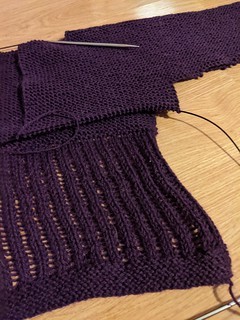 20s Sweater Progress 4