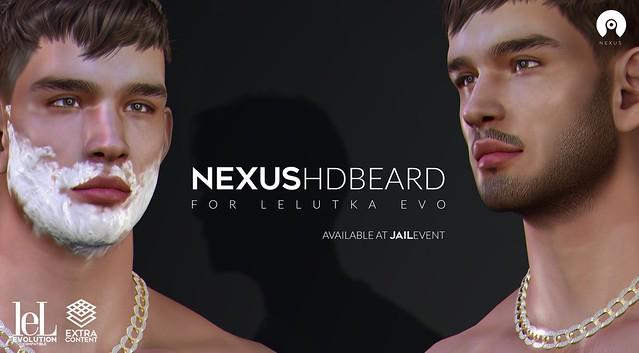 NeXus   HDBeard for Lelutka Evo