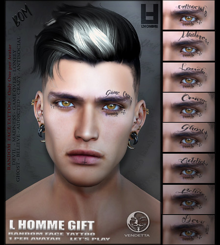 VENDETTA & L HOMME MAG ( GIFT )