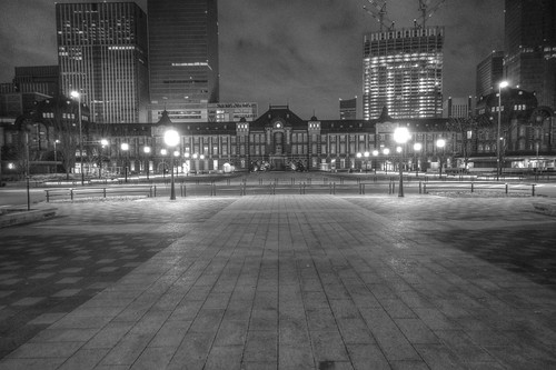 ACROS 27-12-2020 Tokyo Station in early morning (2)