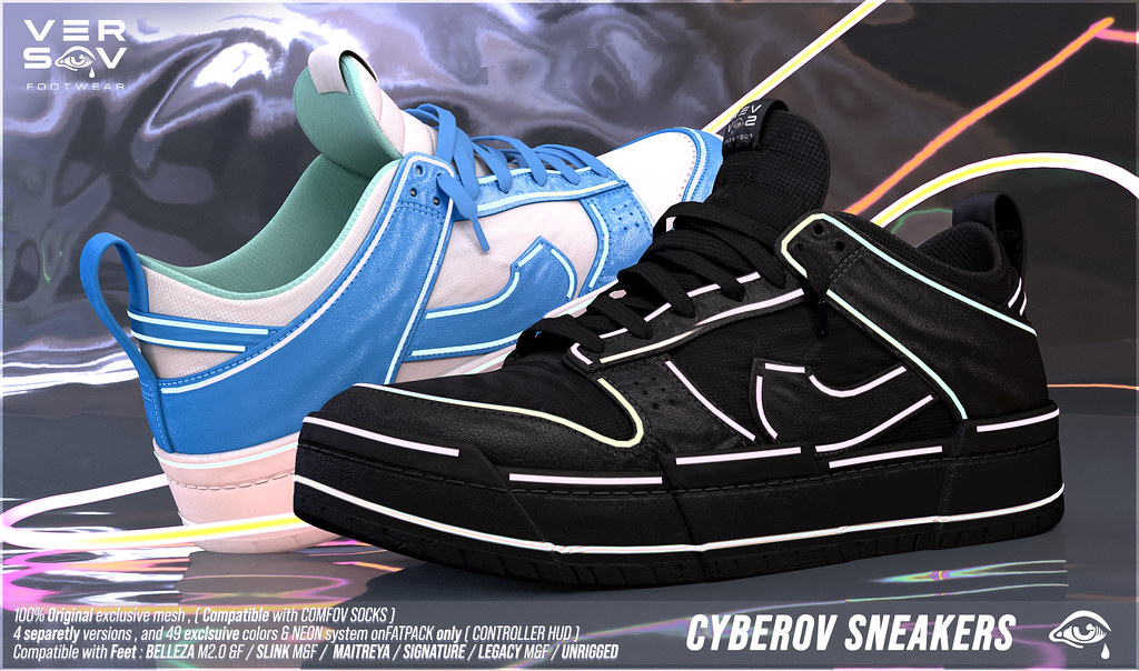 [ Versov // ] CYBEROV sneakers available at TMD