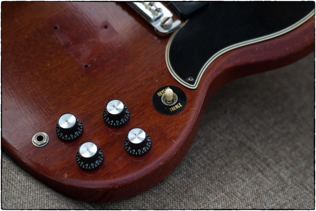 1961 Gibson SG Special, February 04, 2021