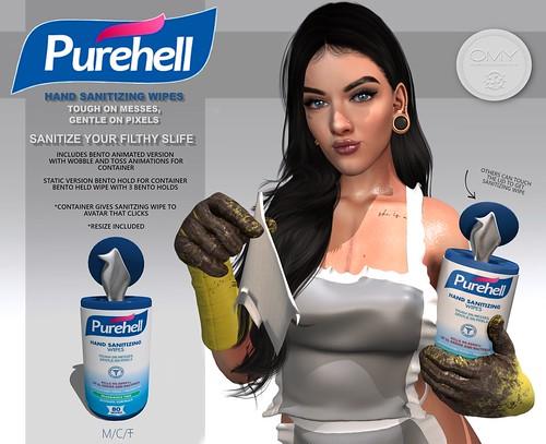 GROUP GIFT Purehell Sanitizing Ad