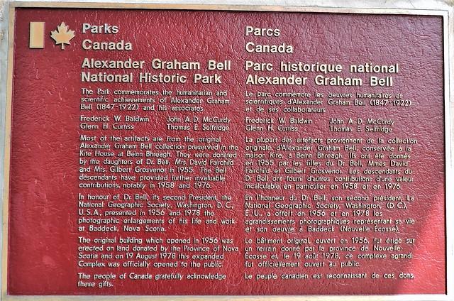 Alexander Graham Bell National Historic Park