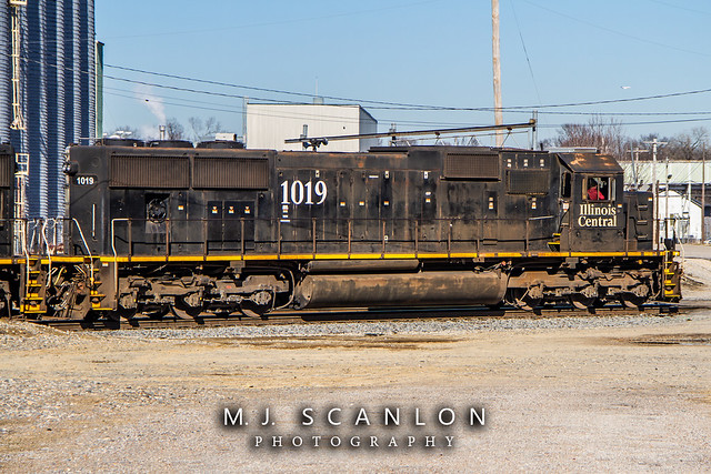 IC 1019 | EMD SD70 | CN Shelby Subdivision