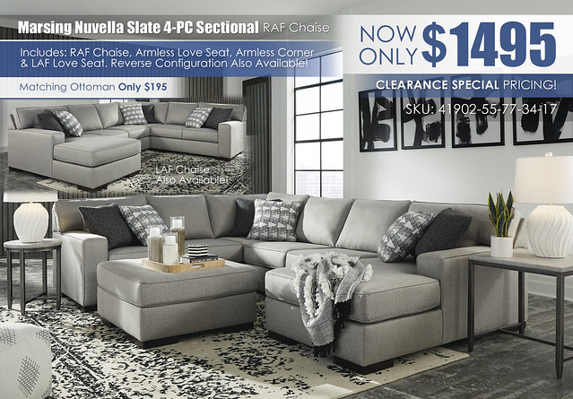 Marsing Nuvella Slate 4-PC Sectional_RAF Chaise_41902-55-77-34-17-08-T250_2021