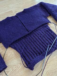 20s Sweater Progress 5