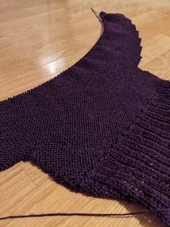 20s Sweater Progress 3