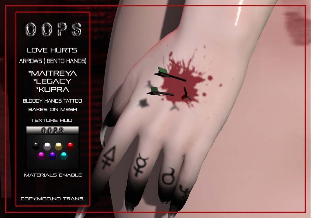 ::OOPS:: Love Hurts – Bento Hands