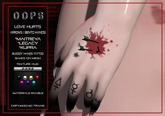 ::OOPS:: Love Hurts - Bento Hands
