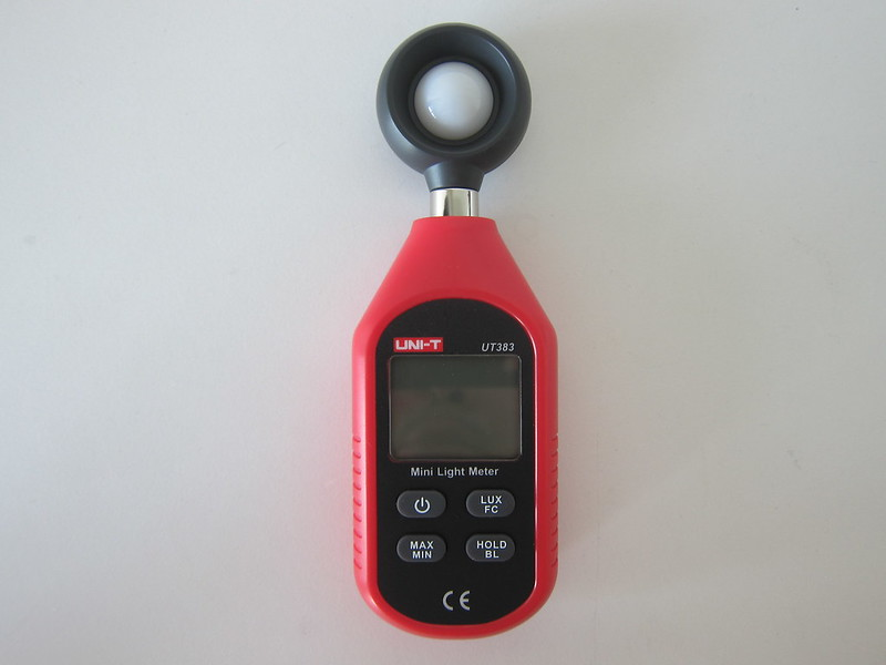 UNI-T Mini Light Meter (UT383) - Front
