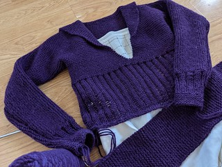 20s Sweater Progress 8