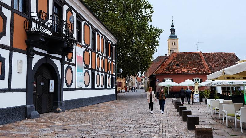Miljenka Stančića Square, Varaždin