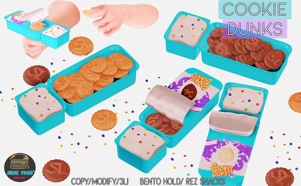 Junk Food – Cookie Dunks Ad