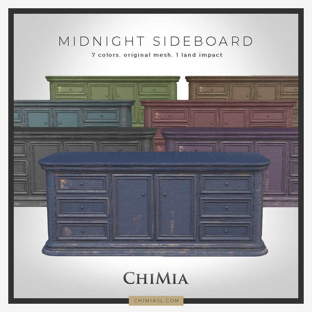 Wanderlust Weekend: updated Midnight Sideboard by ChiMia