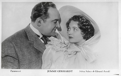 Sylvia Sidney and Edward Arnold in Jennie Gerhardt (1933)