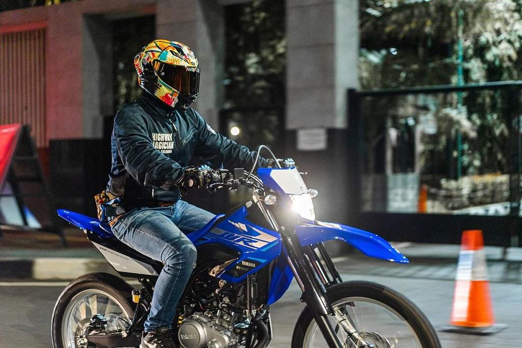Yamaha WR 155R Riding Experience