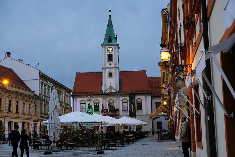 King Tomislav Square, Varaždin