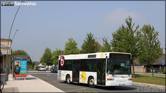 Heuliez Bus GX 117 – Keolis Calvados / Bybus n°952