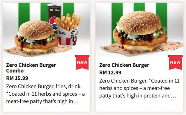 Kfc Malaysia Dijangka Menawarkan Burger Daging Ayam Dari Tumbuh-Tumbuhan