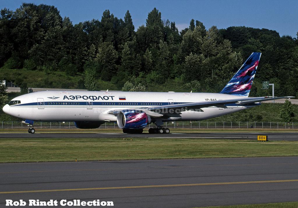 Aeroflot B777-2Q8/ER VP-BAS