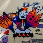 Street art at Graca