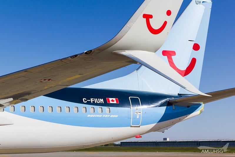 TUI fly - B738 - C-FIUM