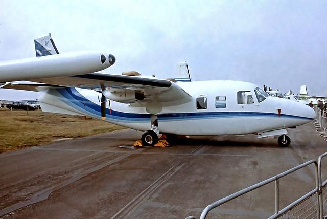 I-PIAC   Piaggio P-166DL-3 [465] Farnborough~G 09/09/1978