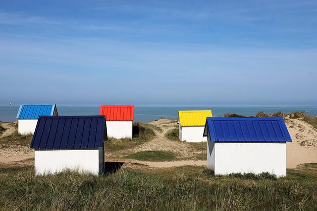 Gouville-sur-Mer beach