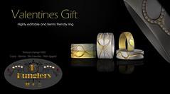 KUNGLERS - Valentine ring