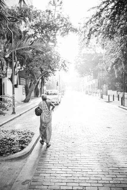 Lady in Bangalore