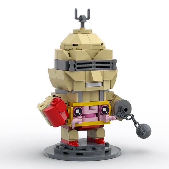Krang with Android Body - TMNT Brickheadz MOC