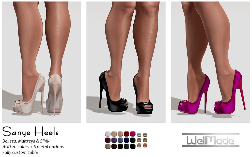 [WellMade] Sanye Heels - Exclusive for Designer Showcase