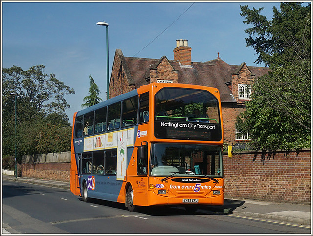 Nottingham City Transport 721