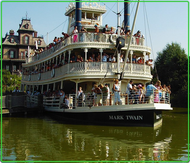 The boat from Disneyland - 1