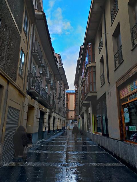 Calle de Jaca (Huesca)