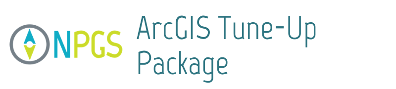 ArcGIS Tune Up Package